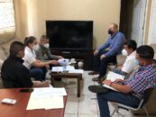 Gobernador Departamental sostuvo una mesa de trabajo interinstitucional para coordinar las acciones de Salud y Nutrición