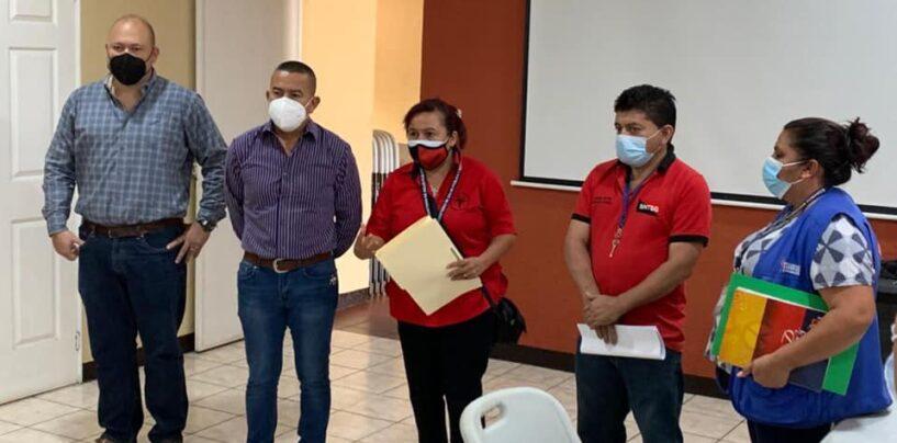 Gobernador Departamental se reunió con representantes de la Filial Sindical Departamental del Área de Salud de Santa Rosa