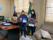 El Sr. Gobernador Departamental Obdulio Herrarte sostuvo reunión de trabajo con consultoras de la Secretaría Contra la Violencia Sexual, Explotación Y Trata de Personas -SVET-.