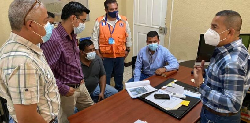Reunión con integrantes de la Mesa Técnica Departamental