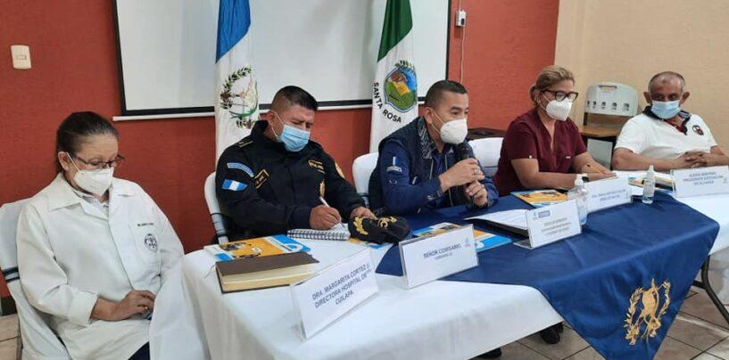 Conferencia de Prensa para informar a la población sobre nueva variante de Covid-19