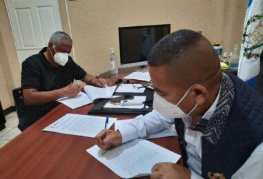 Firma de cuatro convenios con el municipio de Nueva Santa Rosa, de los proyectos que se ejecutará en el ejercicio fiscal 2021