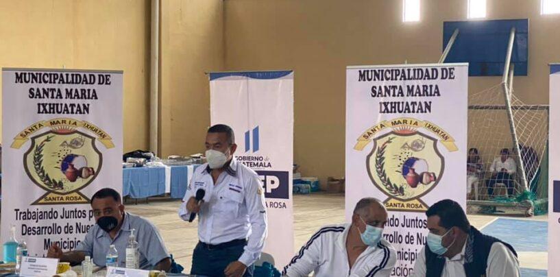 El día de hoy se llevo acabo la quinta reunión ordinaria del Consejo Departamental de Desarrollo -CODEDE- de Santa Rosa, realizada en el bello municipio de Santa María Ixhuatán
