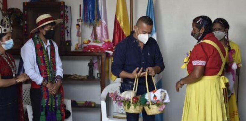 EL SEÑOR GOBERNADOR PARTICIPO EN ACTIVIDAD DE LA CULTURA ANCESTRAL XINKA DEL DEPARTAMENTO