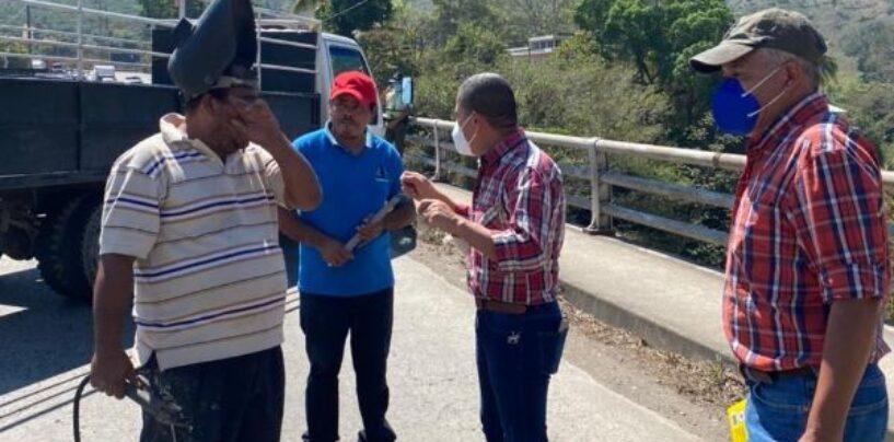 SEÑOR GOBERNADOR REALIZÓ SUPERVISIÓN DE JUNTAS DE DILATACIÓN