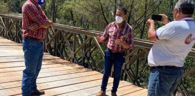 REPARACIÓN DEL PUENTE EL GUAPINOL