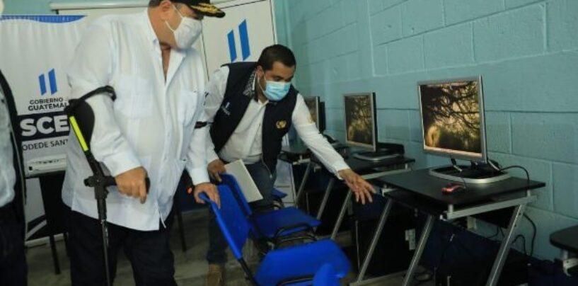 INAUGURACIÓN DEL MEJORAMIENTO DEL INSTITUTO DIVERSIFICADO INED