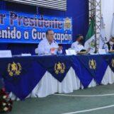 PRESIDENTE CONSTITUCIONAL DE LA REPÚBLICA DE GUATEMALA SOSTUVO REUNIÓN DE TRABAJO CON EL GOBERNADOR DEPARTAMENTAL